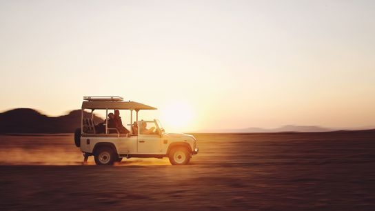 Embarking on an African safari