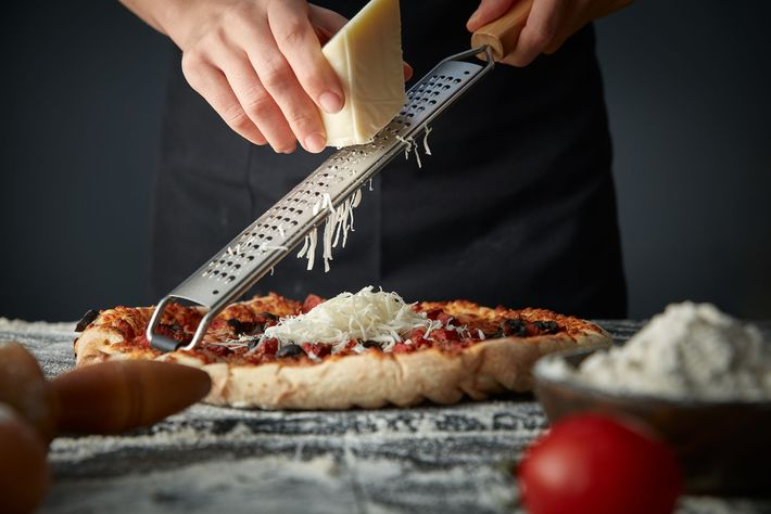 A classic Tuscan pizza