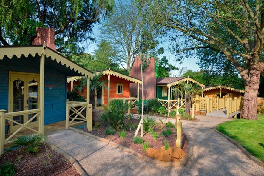 Gir Lion Lodges at London Zoo