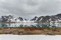 The Bluie East Two base in East Greenland was abandoned in 1947, and everything was left ...
