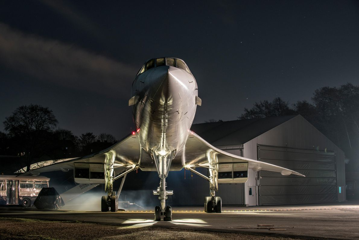 Today Concordes are largely moth-balled in various degrees of condition– from gate guards at airports to ...