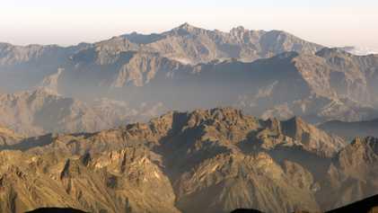 Into Oman's Hajar mountains: Meet the climber Hamid Alshabnooti