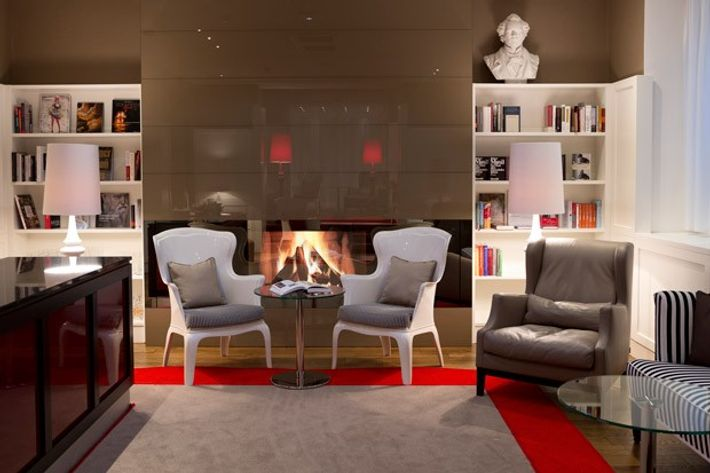 Lounge, Harmonie Vienna.