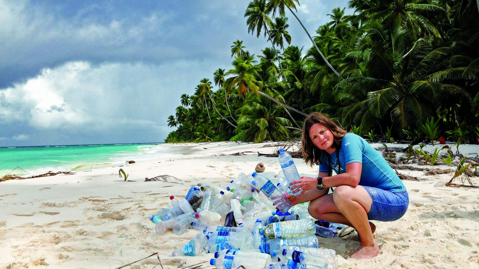 Heather Koldewey is campaigning for an end to single-use plastic bottles and straws.