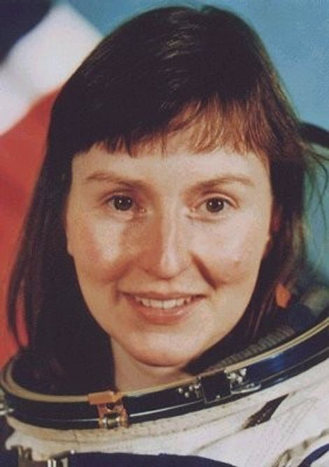Helen Sharman, the first British person in space.