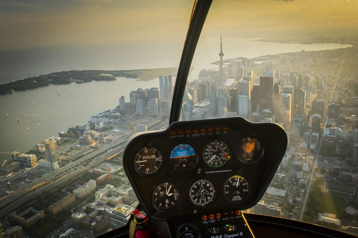 See the iconic CN Tower from above on one of Toronto's helicopter tours, which take off ...