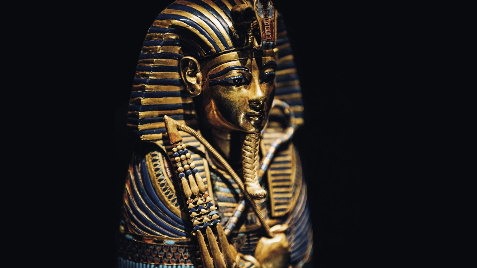 The Canopic Coffinette of Tutankhamun, one of the 150 ancient marvels featuring in the upcoming Tutankhamun: ...