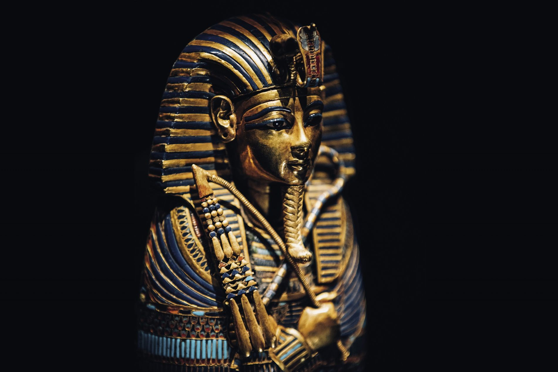 The Canopic Coffinette of Tutankhamun, one of the 150 ancient marvels featuring in the upcoming Tutankhamun: Treasures of the Golden Pharaoh exhibition, presented by Viking Cruises.
