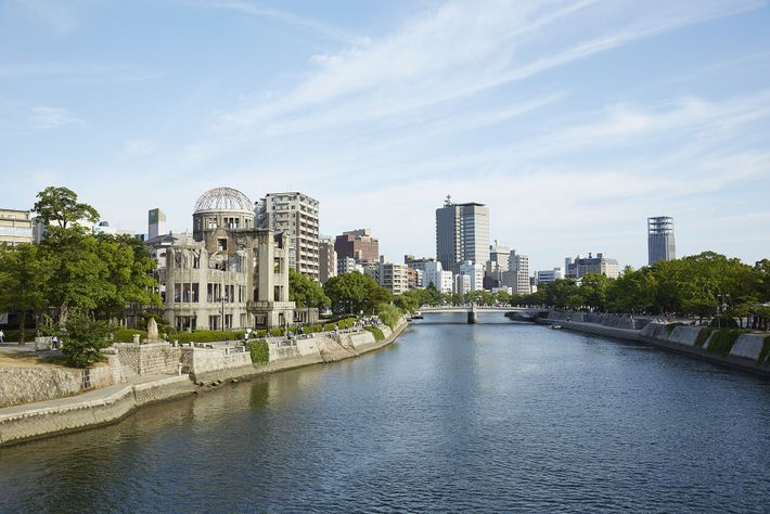 Hiroshima Genbaku Dome, one of the sites of the Peace Festival