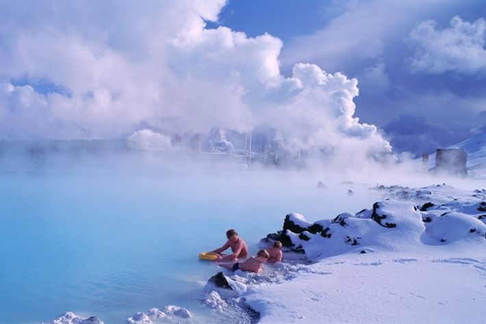 Blue Lagoon, Iceland. Image: Superstock.