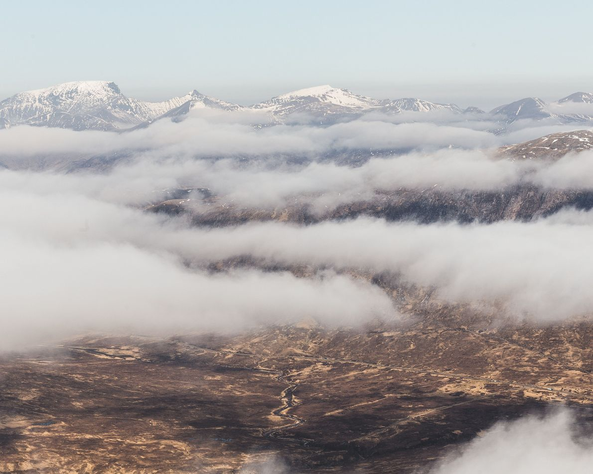 """Daniel Alford: """"From the top of the Glen Coe ski centre, you get an amazing view ..."""