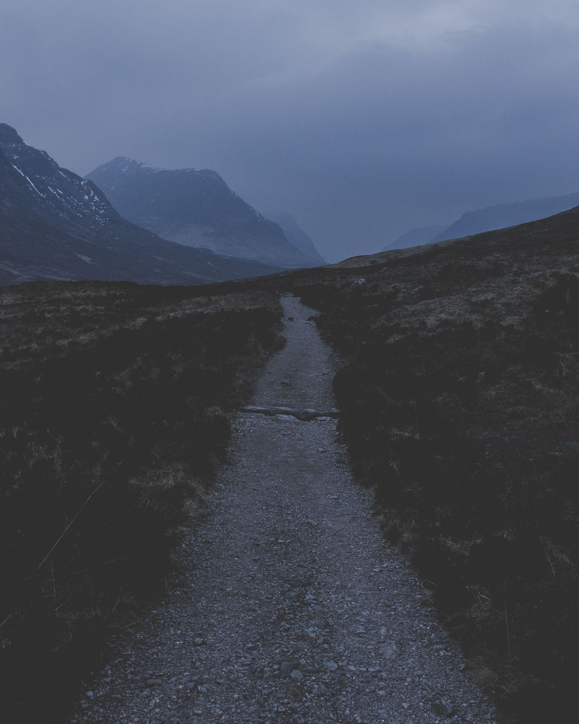 "Daniel Alford: ""This is the last light of 'blue hour' fading on the West Highland Way, ..."