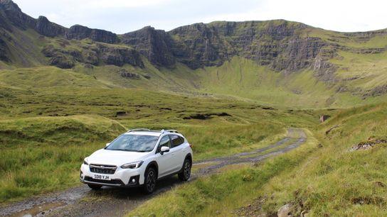 The Subaru SUV on Skye
