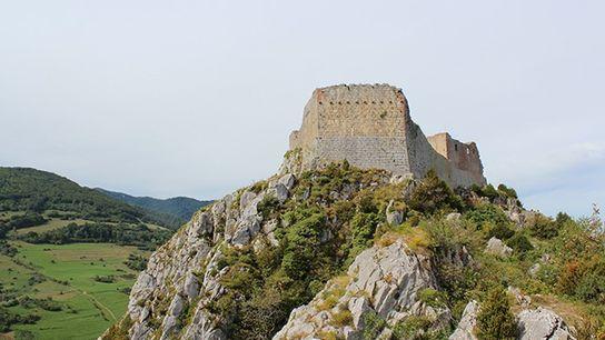 Château de Montségur.