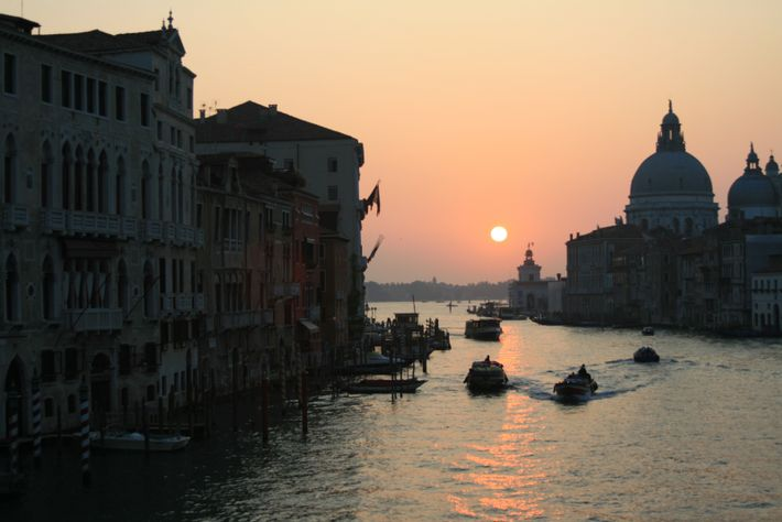 """Venice's Grand Canal. """"I thought that Venice was just totally and completely magical."""""""