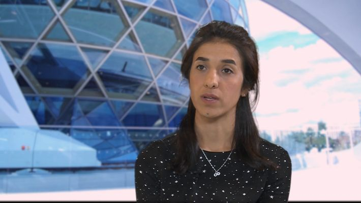 Nadia Murad Interview | Global Positive Forum