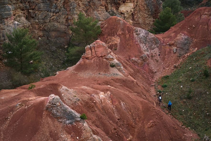 Exploring the Cave di Bauxite in Italy