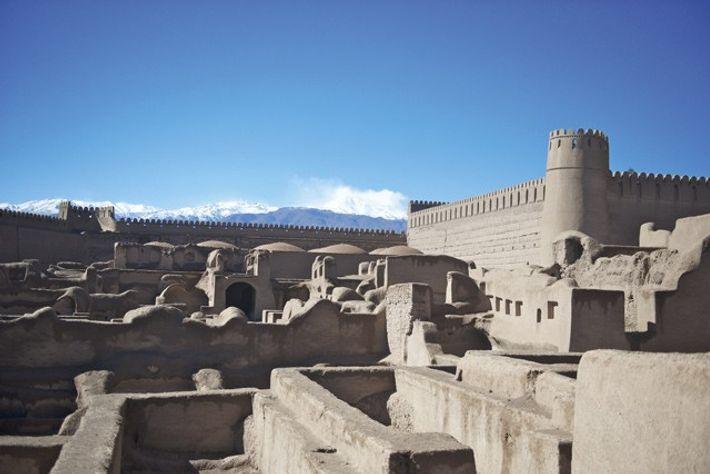 Arg-e Reyan adobe fort near Kerman. Image: Mark Stratton