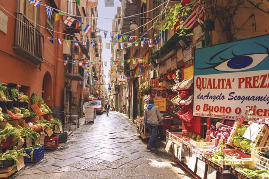 Spanish Quarter, Naples.
