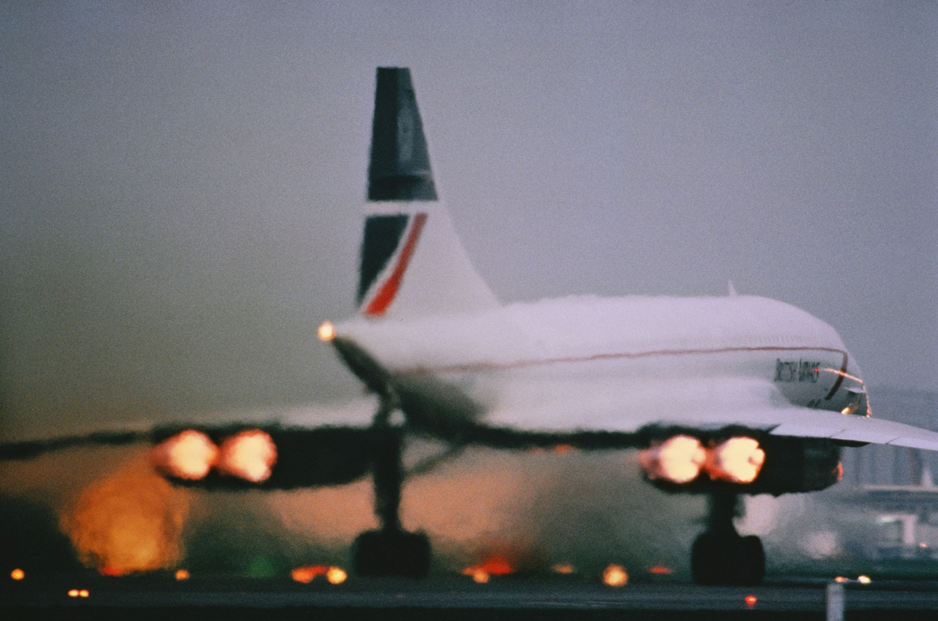 Afterburners were essential for getting Concorde through the sound barrier. The enormous consumption of fuel was one of Concorde's downfalls –as fuel prices rose, profitability fell.