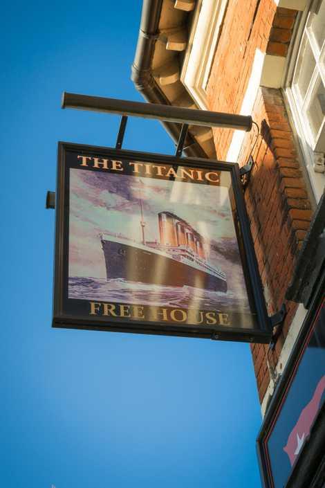 The Titanic pub, Southampton