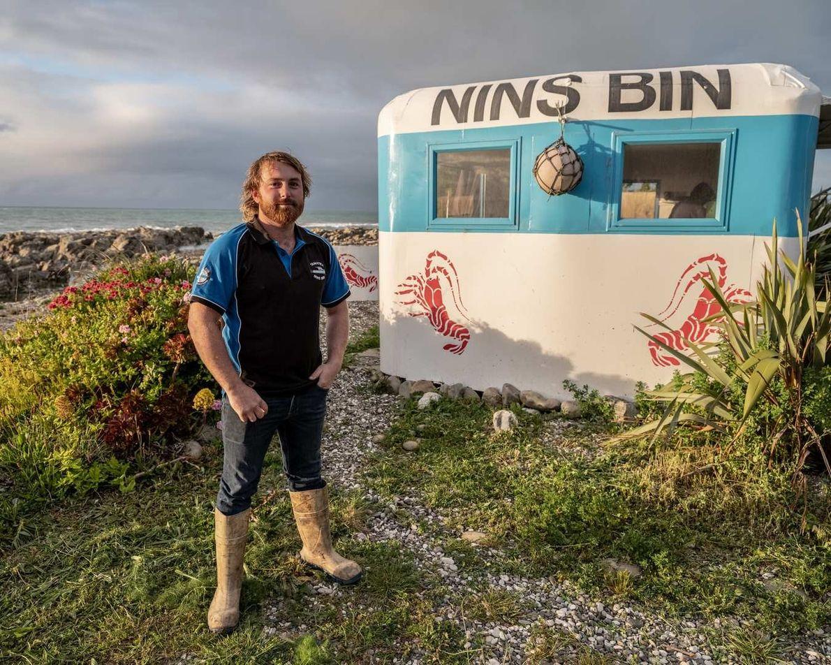 Johnny Clark, owner of Nin's Bin