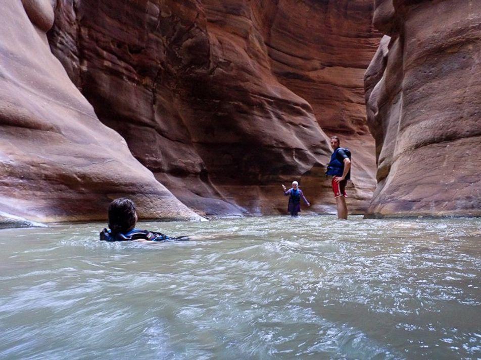 Wadi Mujib: Canyoning Jordan-style