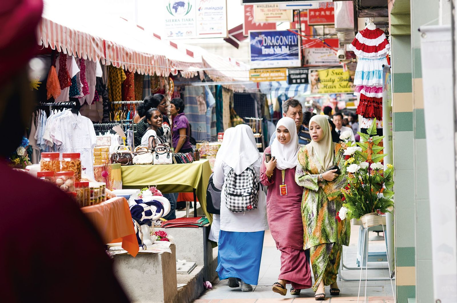 Shopping in Brickfields