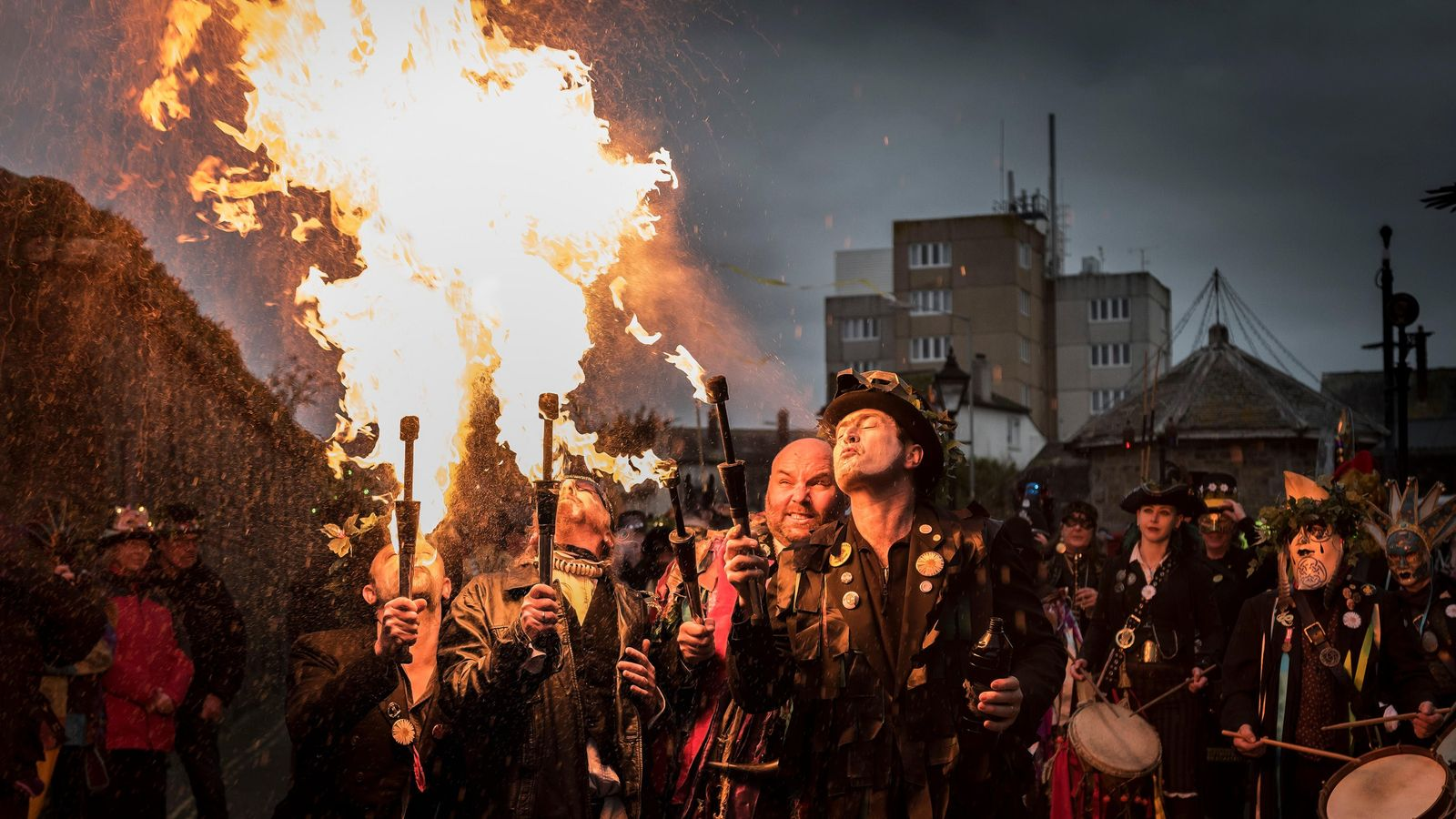 The annual Montol festival in Penzance celebrates traditional Cornish culture every December. While Cornish is celebrated ...