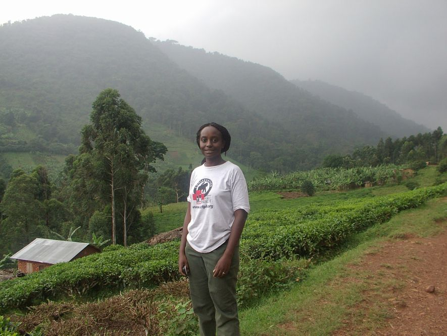 Gladys Kalema-Zikusoka, founder and CEO of Conservation Through Public Health, which works to protect mountain gorillas ...