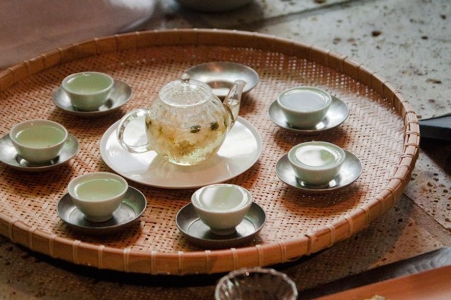 Tea time in summer, Kyoto. Image: Getty.
