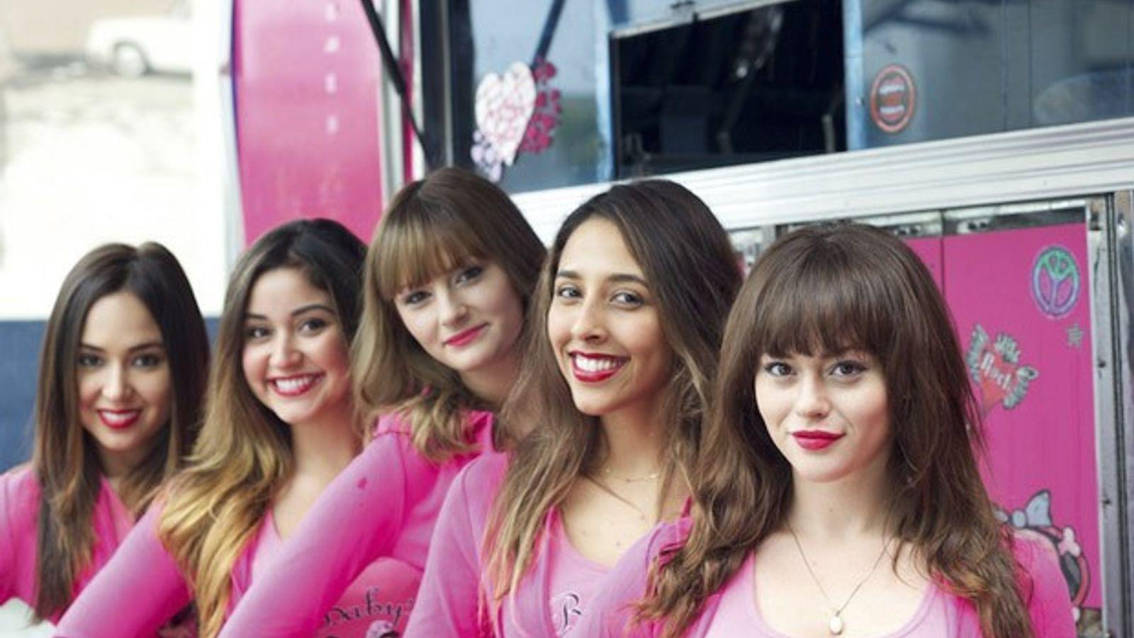 The girls of Baby's Badass Burgers