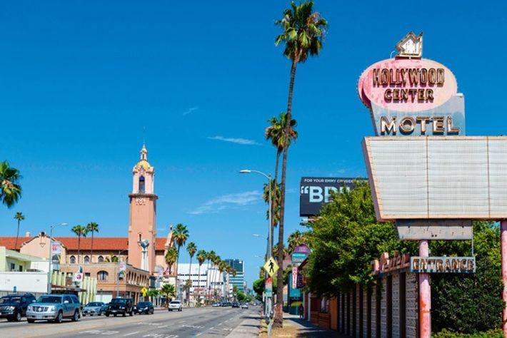 Sunset Boulevard, West Hollywood. Image: Alamy