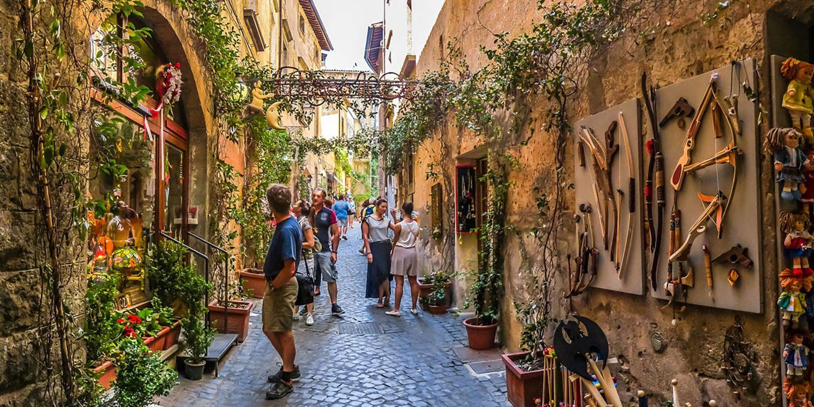 Go gourmet in Tuscany