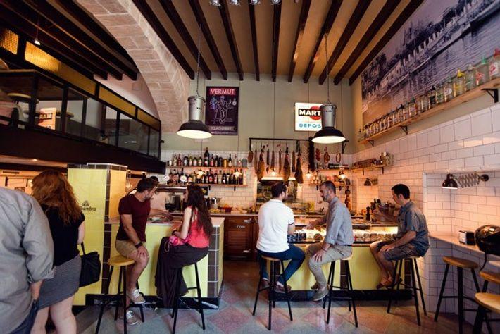 La Rosa restaurant, Palma