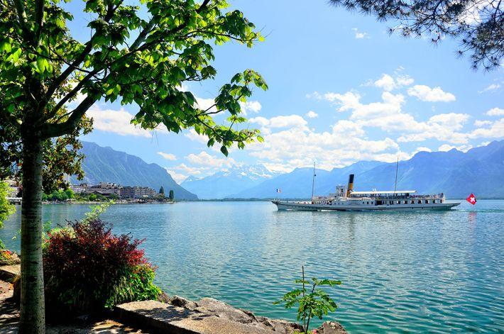 Belle Epoque fleet, Lake Geneva