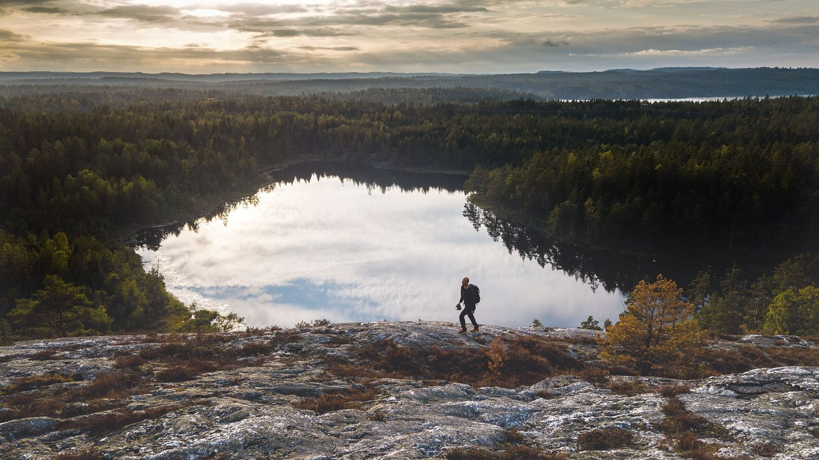 Hiking in Dalsland.