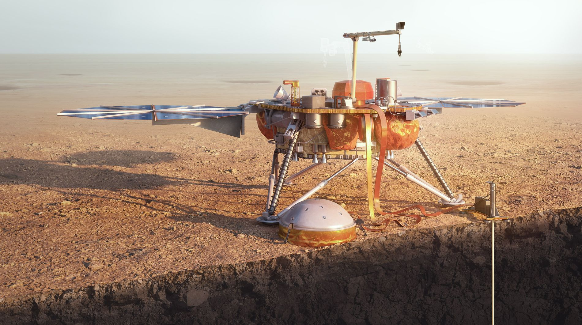 How NASA's next Mars mission will take the red planet's pulse