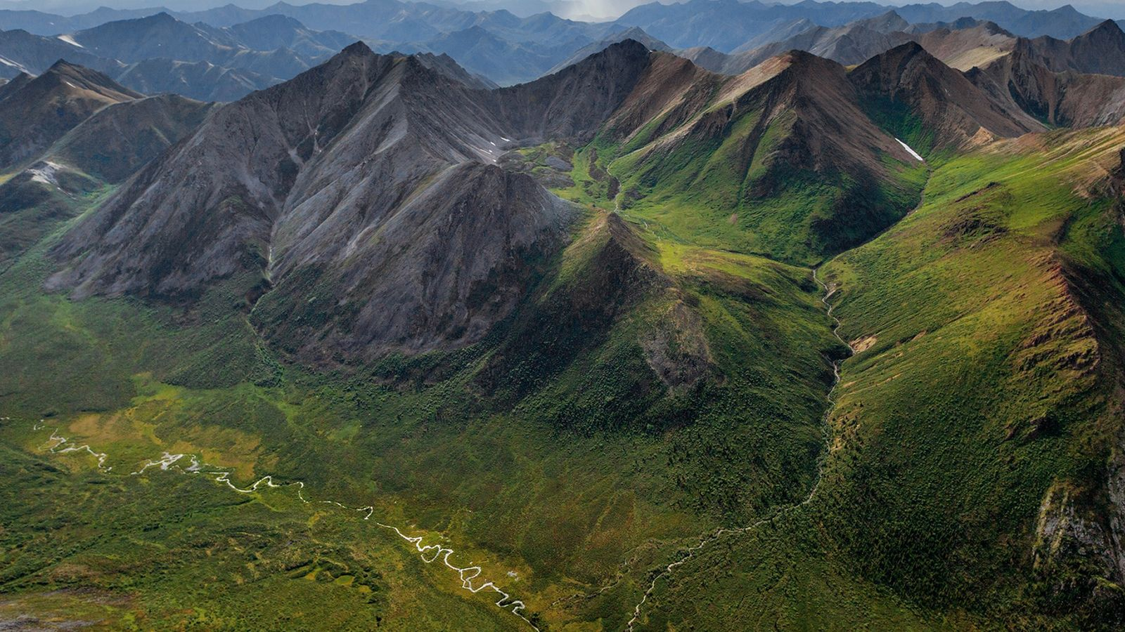 The wild heart of the Yukon Territory, the Peel Watershed is rich in rugged peaks and ...