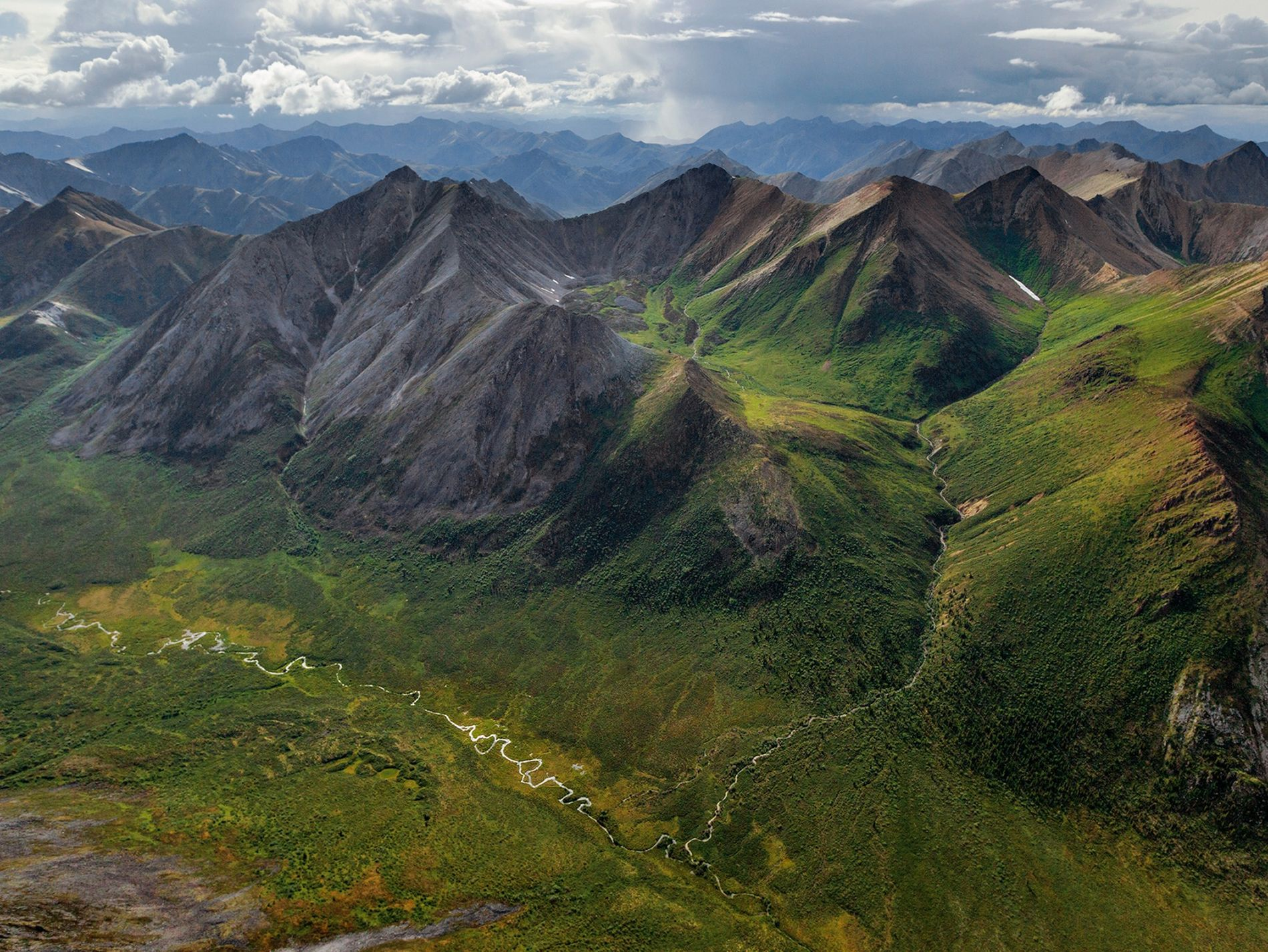 The wild heart of the Yukon Territory, the Peel Water­shed is rich in rugged peaks and ...