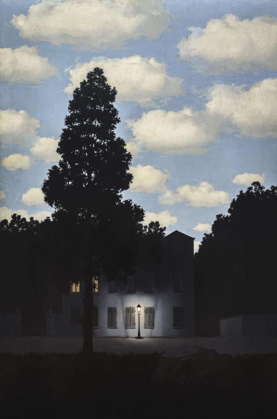 Empire of Light by René Magritte.