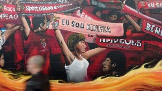 Benfica mural.