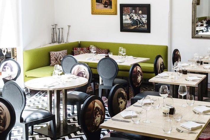 Ready for service at Le Trou au Mur restaurant. Image: Annapurna Mellor