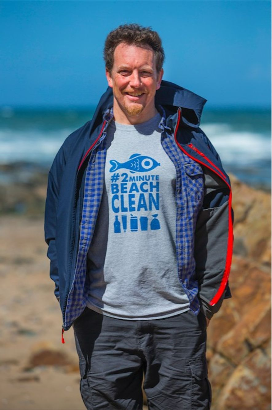 Cornwall-based surfer, Martin Dorey, has campaigned to clean up UK beaches and help people reduce their ...