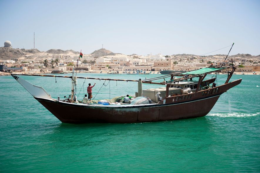 Masirah Island, 10 miles off Oman's southeast coast is the country's largest island.