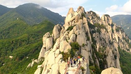 A head for heights: Hiking in Seoraksan National Park