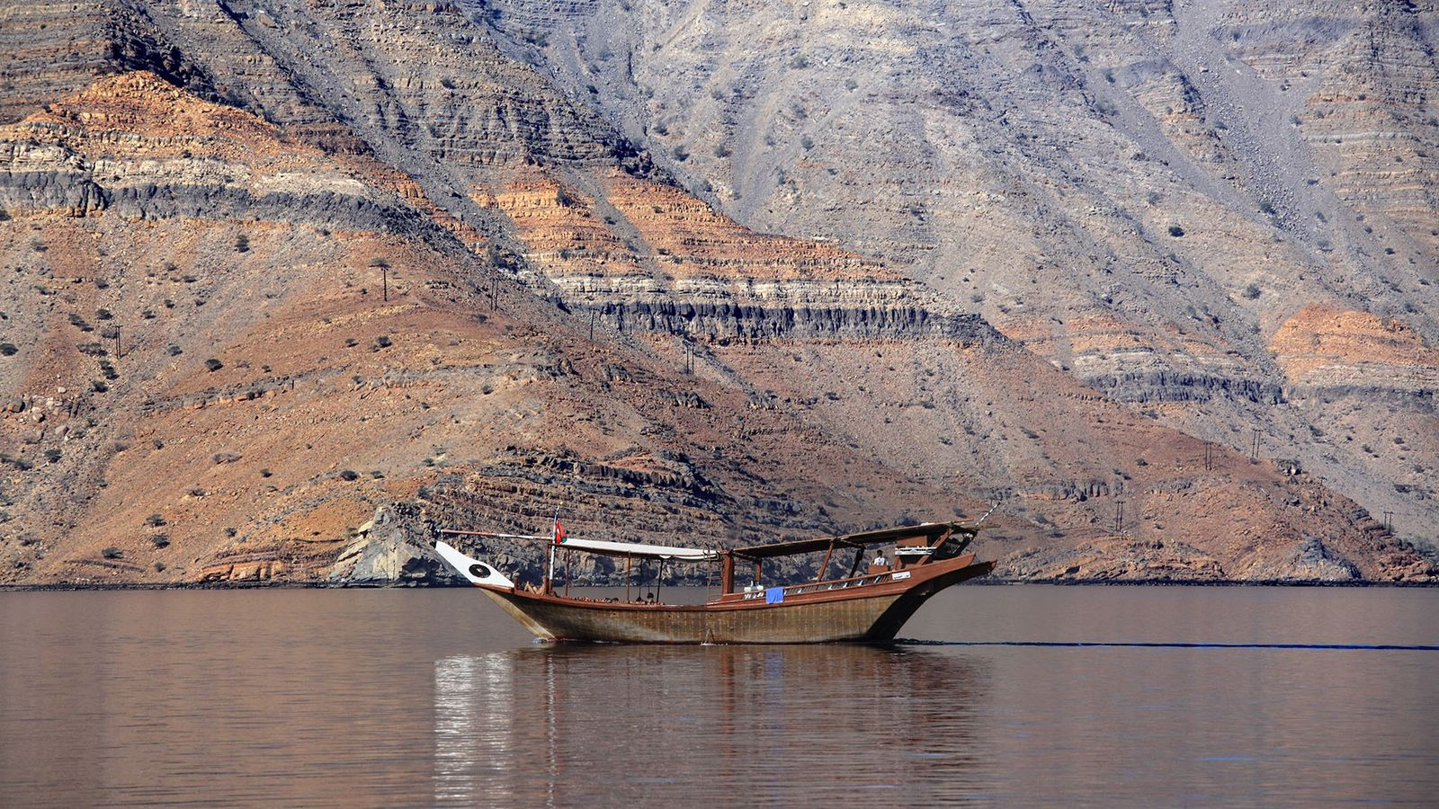 The narrow inlets of the Musandam Fjords have earned it the title, the 'Norway of Arabia.'