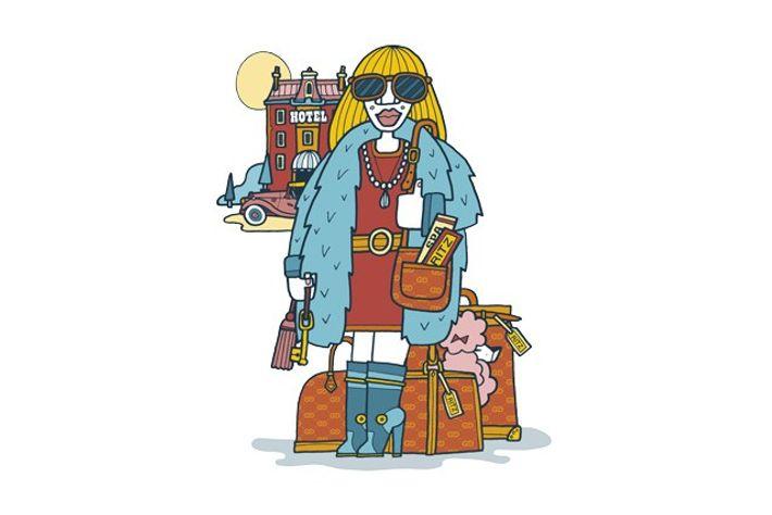 Luxury traveller