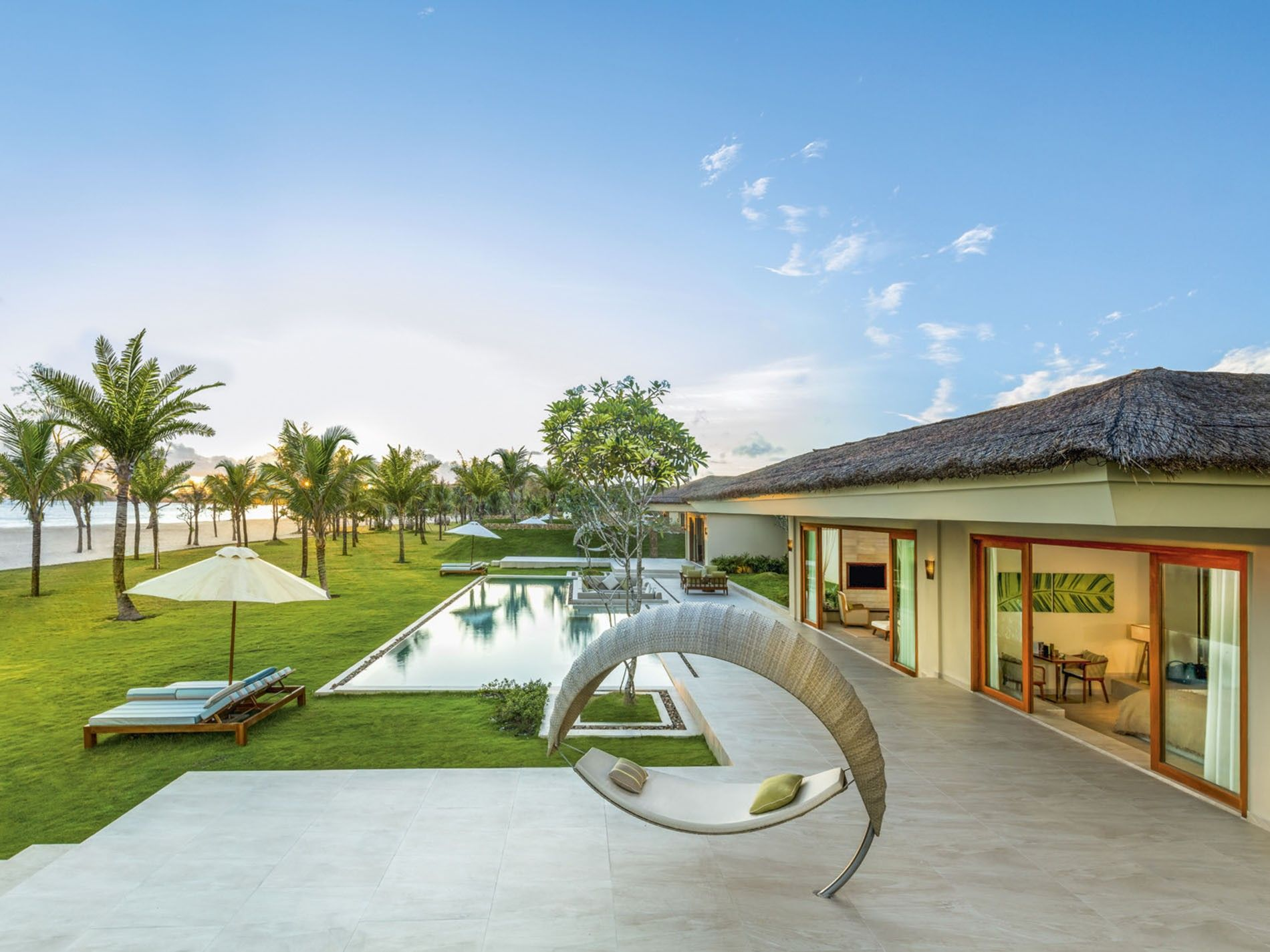 Rooms with an outside pool at Fusion Resorts Phu Quoc