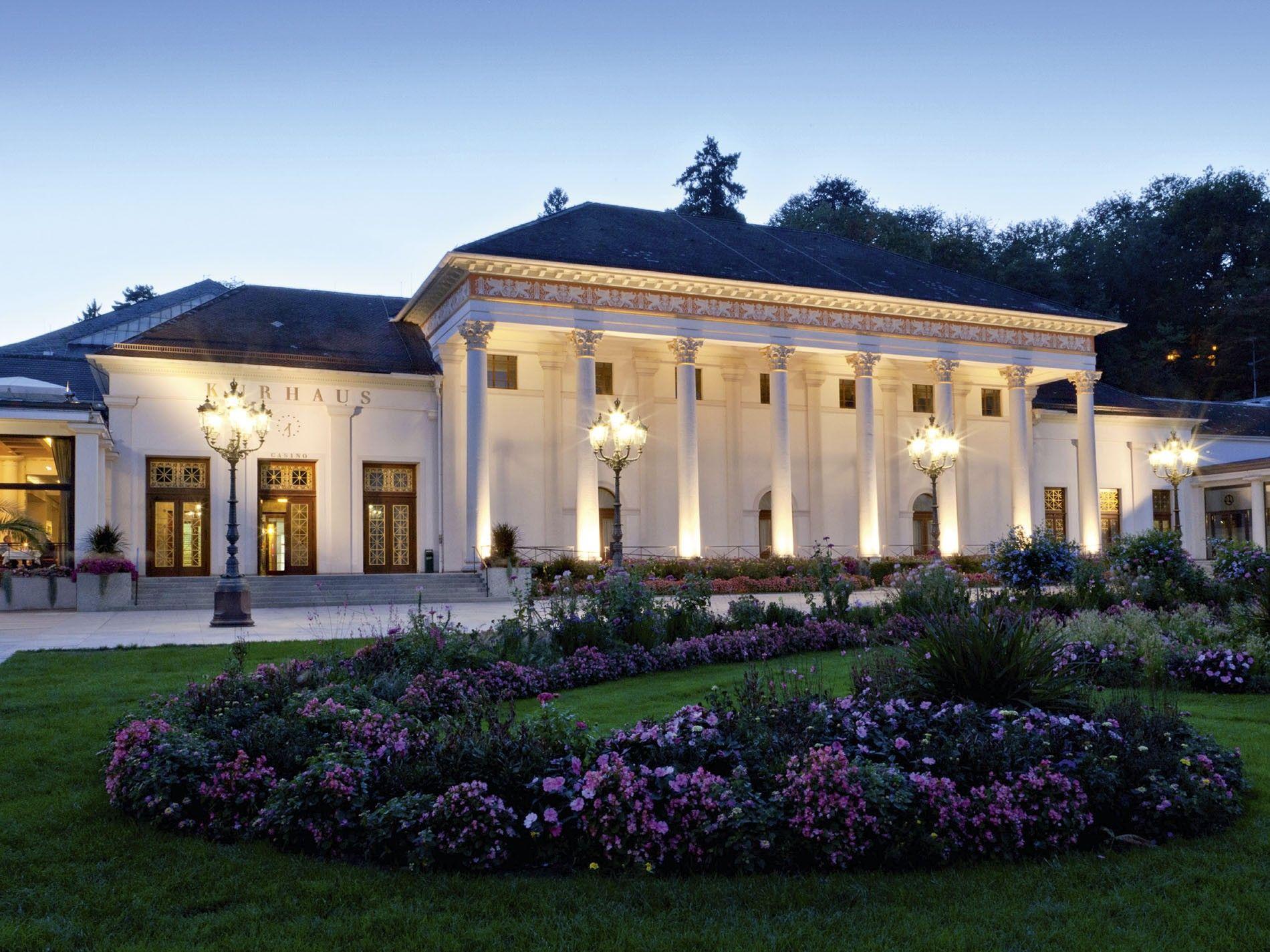 Baden-Baden spa town.